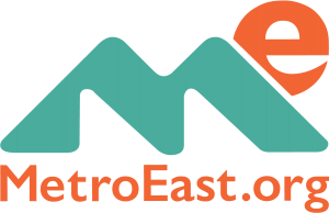 WEB-MetroEast-E-Logo-Stacked-Orange-and-Teal-URL copy